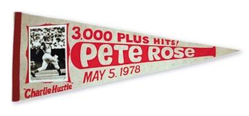 Pete Rose & Cincinnati Reds - April 2001