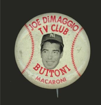 Joe DiMaggio - April 2001