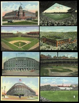 Baseball Postcards - April 2001