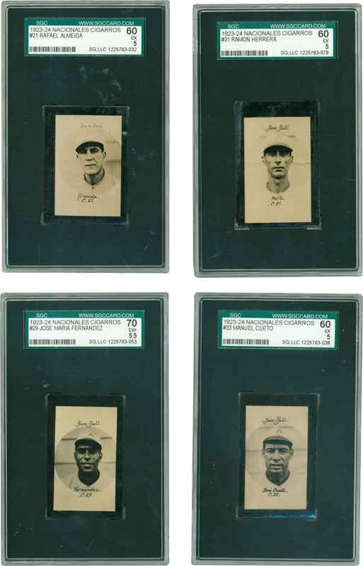 Negro League and Latin Cards - December 2005