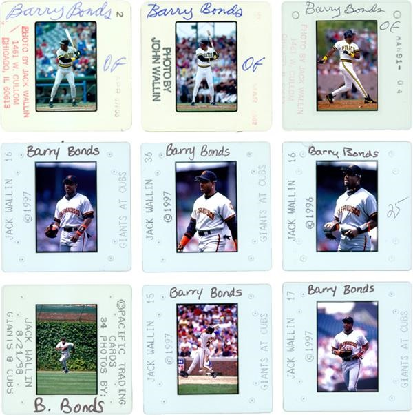 Barry Bonds Donruss Baseball Card Outtakes 147