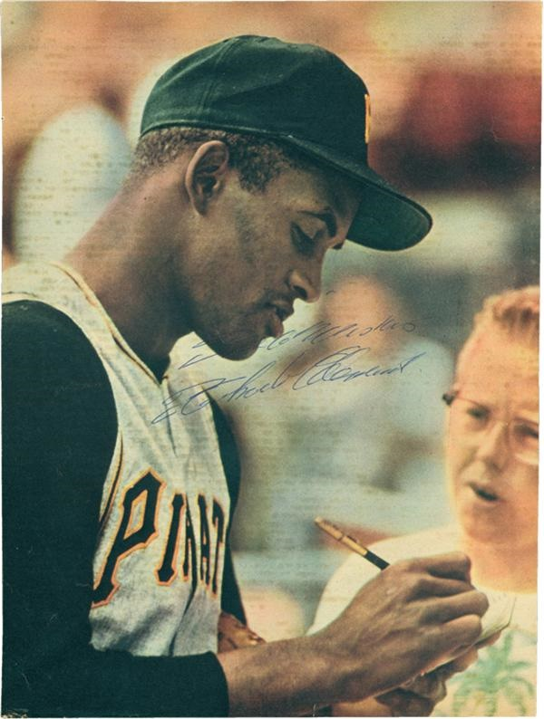 Clemente and Pittsburgh Pirates - December 2005