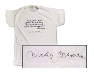 Mickey Mantle - April 2001