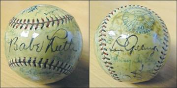 Lou Gehrig - April 2001