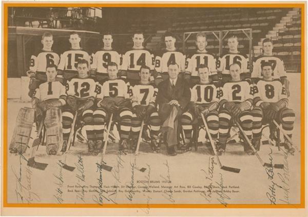 Hockey Autographs - Spring 2006 Catalog