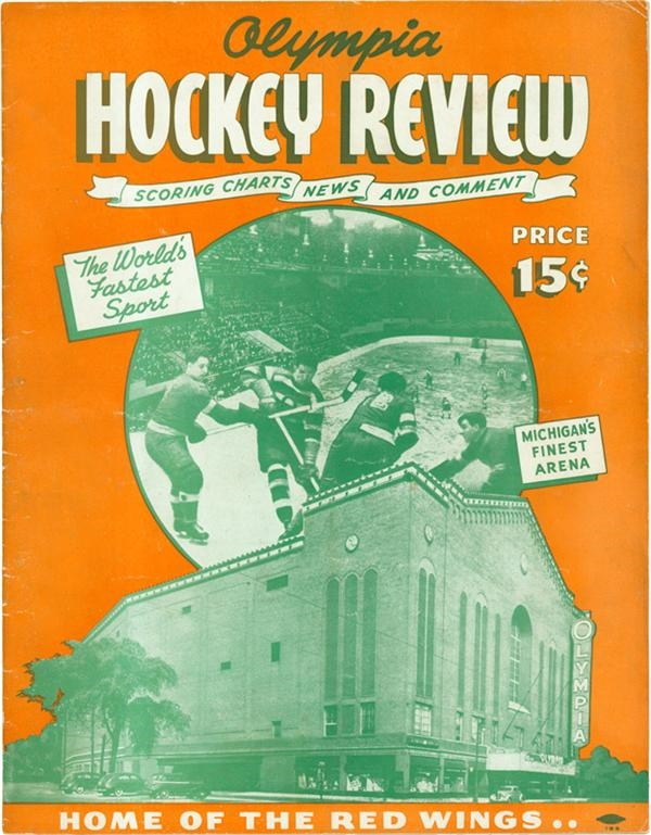 Hockey Memorabilia - Spring 2006 Catalog