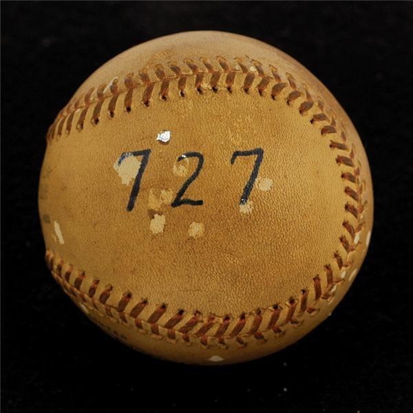Historical Baseballs - Spring 2006 Catalog