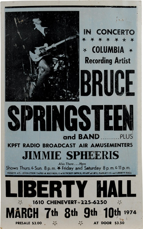 Bruce Springsteen - Spring 2006 Catalog