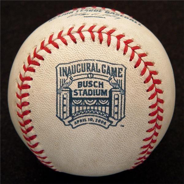 Cardinals - First Home Run Ball - New Busch Stadium