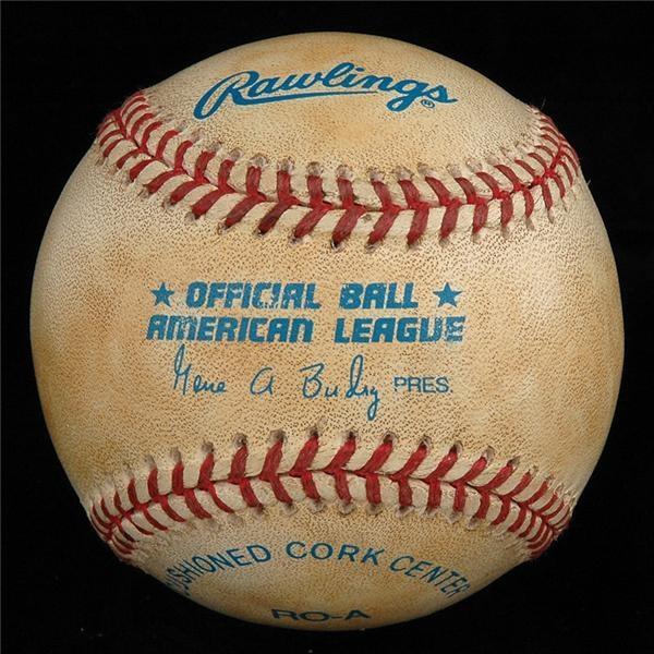 Historical Baseballs - Summer/August 2006 Catalog