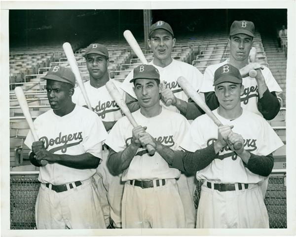 Jackie Robinson & Brooklyn Dodgers - Summer/August 2006 Catalog