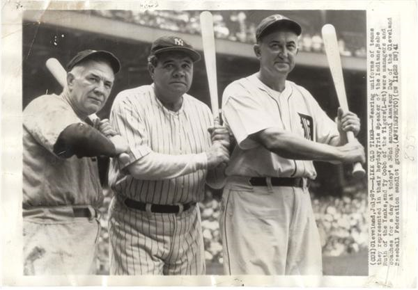 Babe Ruth and Lou Gehrig - Summer/August 2006 Catalog