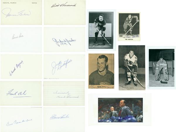 Hockey Autographs - Summer/August 2006 Catalog