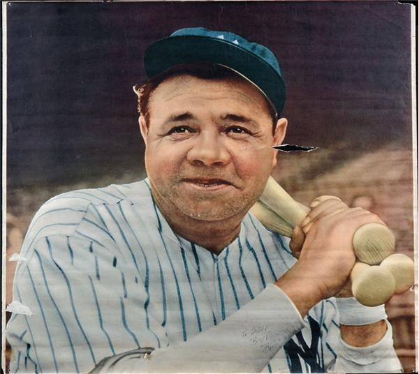Babe ruth in color-4497