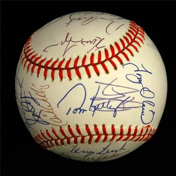 Autographs Baseball - February 2007 Lelands - Gaynor