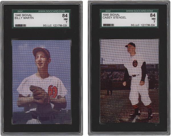 Cards BAseball Post 1930 - February 2007 Lelands - Gaynor