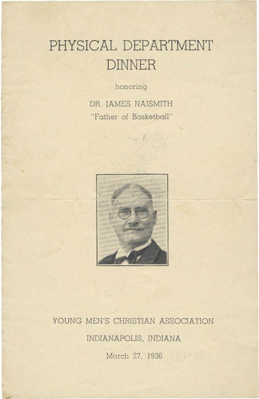 The Dr. James Naismith Collection - March 2007 Lelands - Gaynor