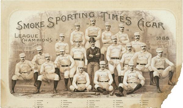 19th Century Baseball - April 2007 Catalog