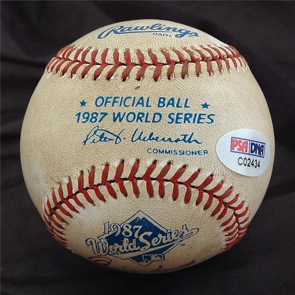 Historical Baseballs - April 2007 Catalog