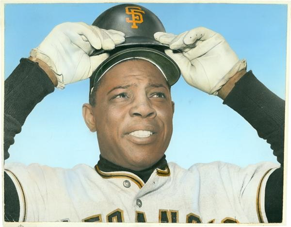 Willie Mays - April 2007 Catalog