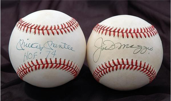 Baseball Autographs - April 2007 Catalog
