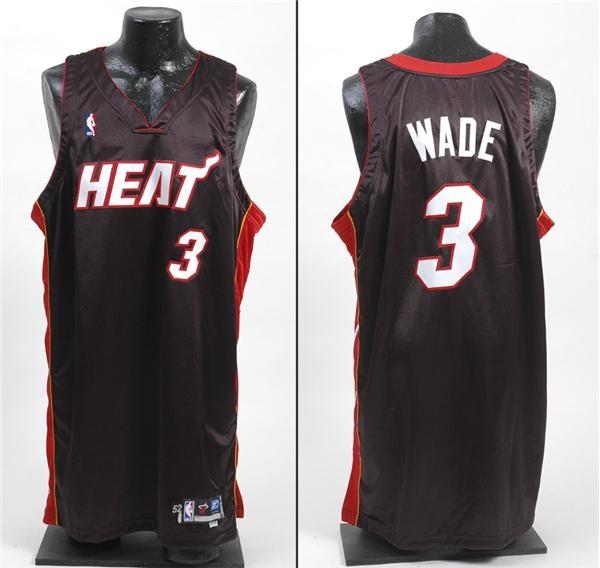 e9c4ad13bcc 2004-05 Dwyane Wade Miami Heat Game Worn Jersey