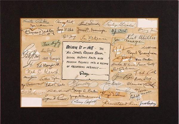 Ernie Davis - April 2007 Lelands - Gaynor