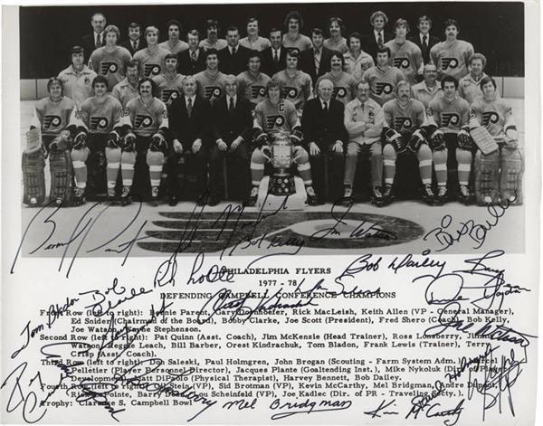 Hockey Autographs - April 2007 Lelands - Gaynor
