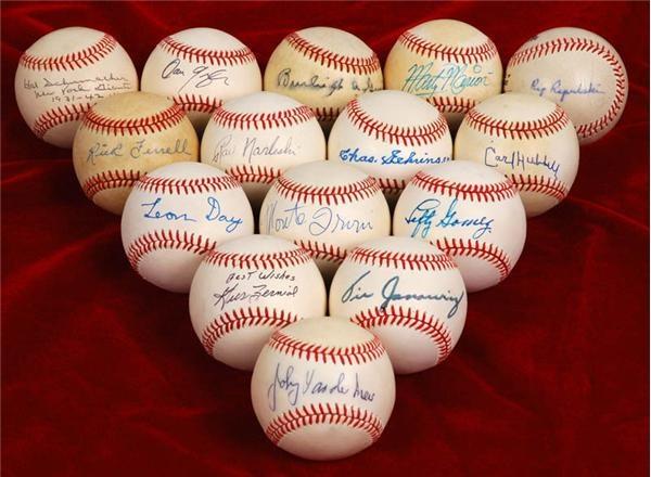 Baseball Autographs - April 2007 Lelands - Gaynor