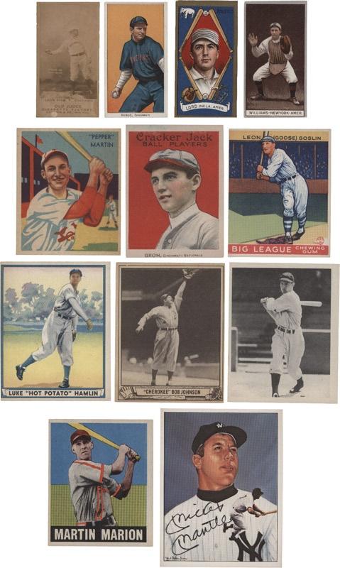 Baseball and Trading Cards - July 2007 Lelands - Gaynor