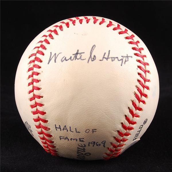 Baseball Autographs - July 2007 Lelands - Gaynor