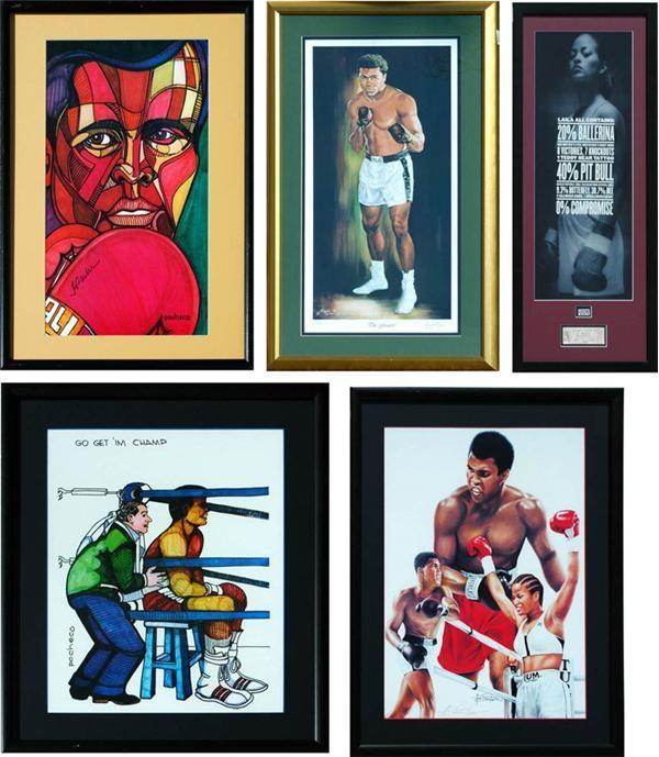 Muhammad Ali & Boxing - May 2007 Lelands - Gaynor