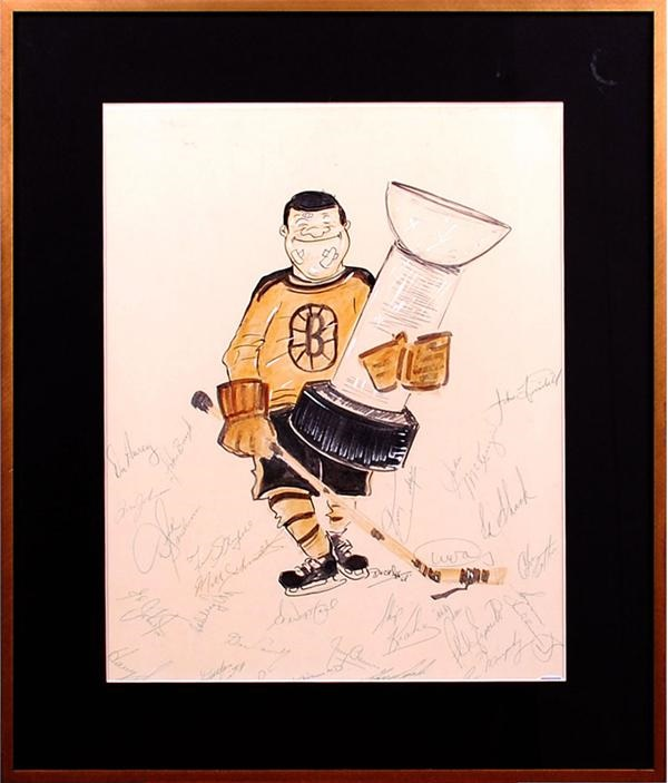 Hockey Memorabilia - June 2007 Lelands - Gaynor
