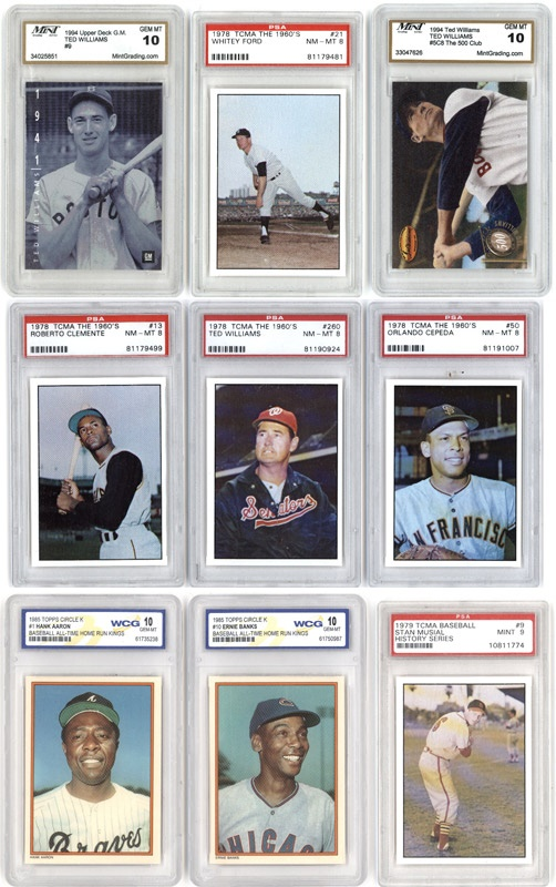 Baseball and Trading Cards - June 2007 Lelands - Gaynor