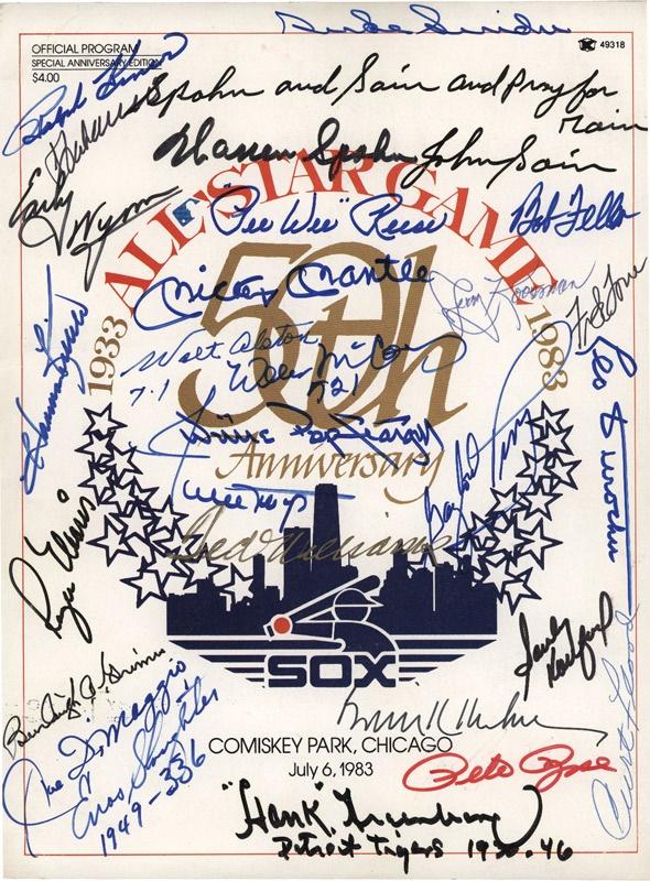 Baseball Autographs - June 2007 Lelands - Gaynor