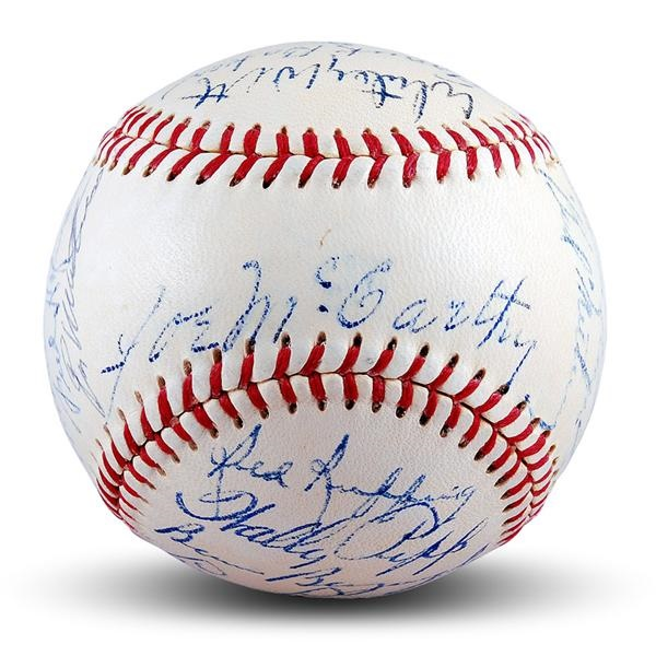 Baseball Autographs - November 2007 Catalog