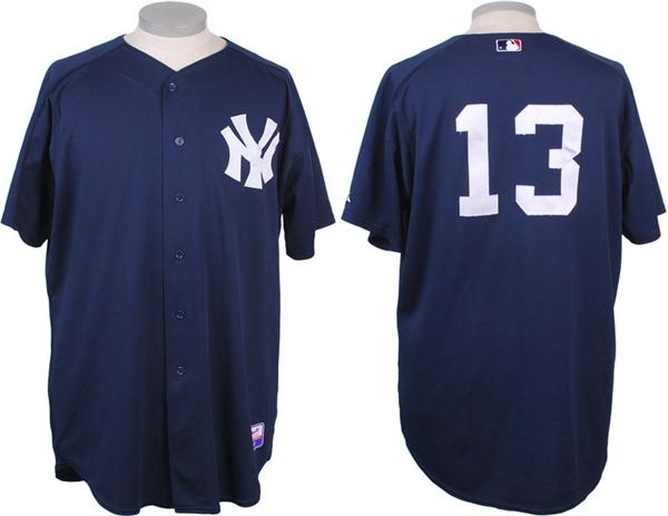 Alex Rodriguez Game Used New York Yankees Spring Training Jersey 570f3699f2c