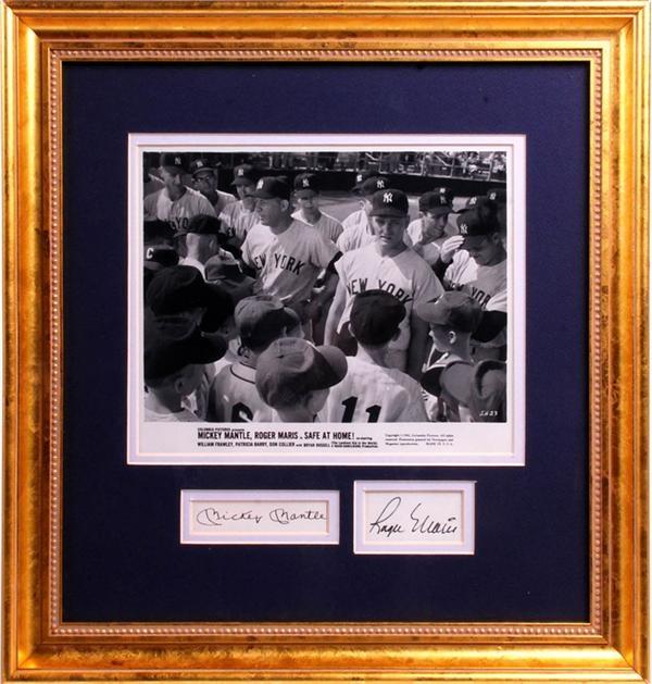 Baseball Autographs - August 2007 Lelands - Gaynor