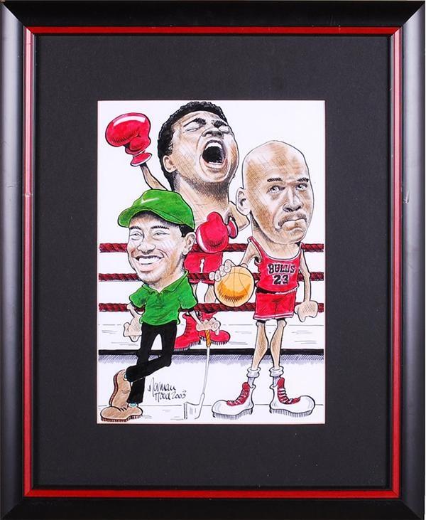 Muhammad Ali & Boxing - August 2007 Lelands - Gaynor