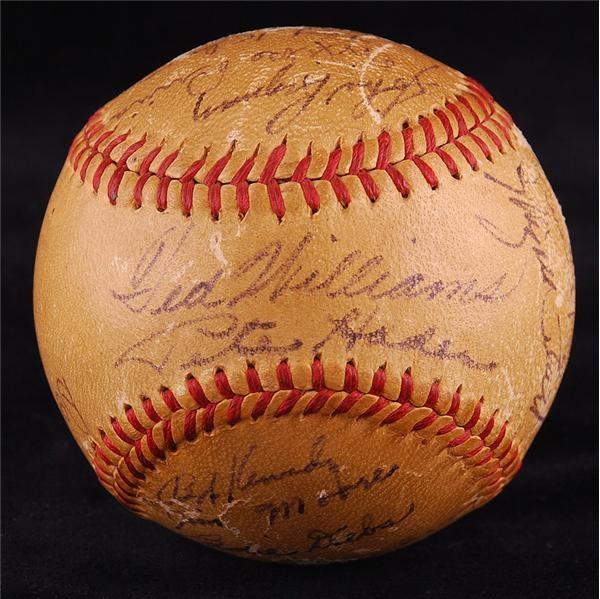 Baseball Autographs - September 2007 Internet