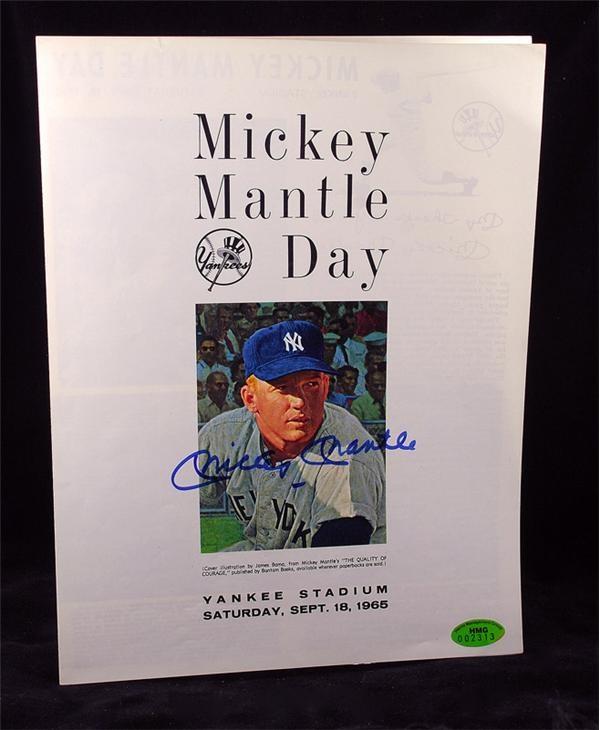 Baseball Autographs - October 2007 Internet