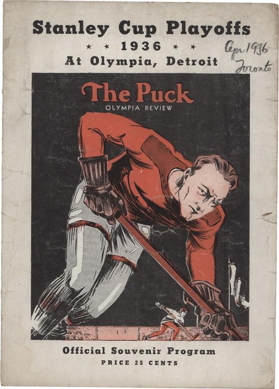 Hockey Memorabilia - October 2007 Internet
