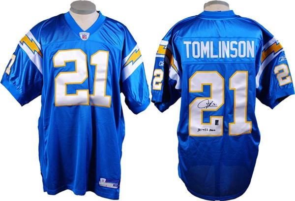 Ladainian Tomlinson Signed San Diego Chargers Jersey 06db174fe