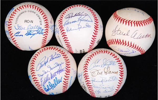 Baseball Autographs - December 2007 Internet Only