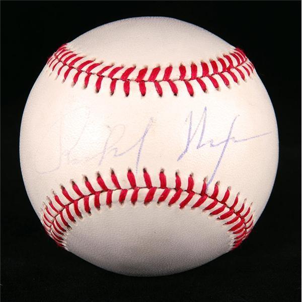 Autographs Baseball - January 2008 Internet