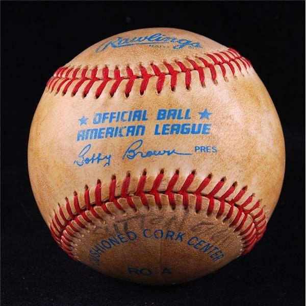 Baseball Equipment - March 2008 Internet