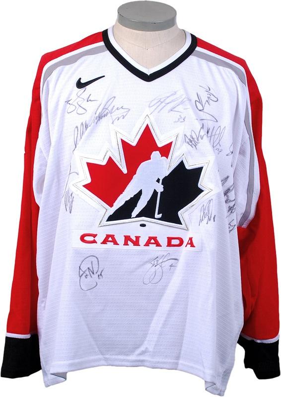 Hockey Memorabilia - March 2008 Internet