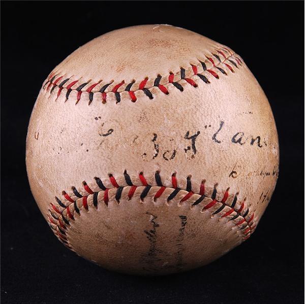 Baseball Autographs - March 2008 Internet