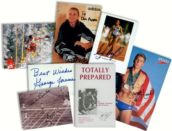 1980 Miracle on Ice & Olympics - May 2008 Internet Auction