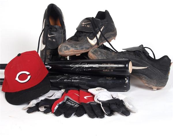 Baseball Equipment - May 2008 Internet Auction